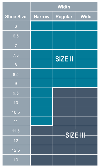 restiffic size chart for men