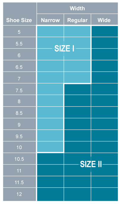 restiffic size chart for women